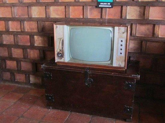 Hospederia Duruelo : un viejo TV