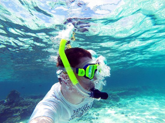 Lily Beach Resort & Spa: Snorkling