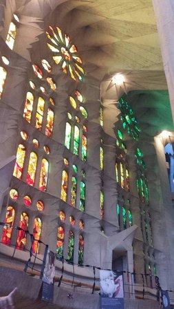 Basilica of the Sagrada Familia: Navata sinistra