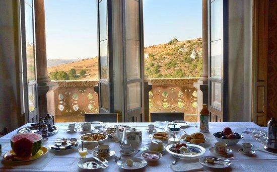 B&B Castello Vecchio : Breakfast room