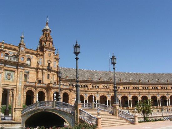Plaza de España: fairytale