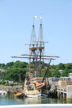 Plymouth to Provincetown  Express Ferry: Mayflower II