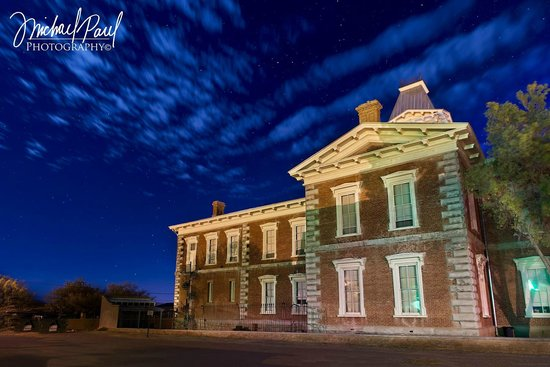Tombstone Courthouse State Historic Park: This Picture is taken by Michael Paul Photoworks on a beautiful night