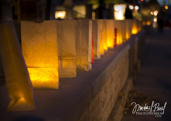 Tombstone Courthouse State Historic Park: Our Luminaries happen once a year. Photo by Michael Paul Photoworks