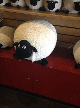 Blackpool Pleasure Beach: Souvenirs were expensive, especially in Nickelodeon Land! £75 sheep toy!!