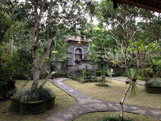 Alam Shanti: Front garden