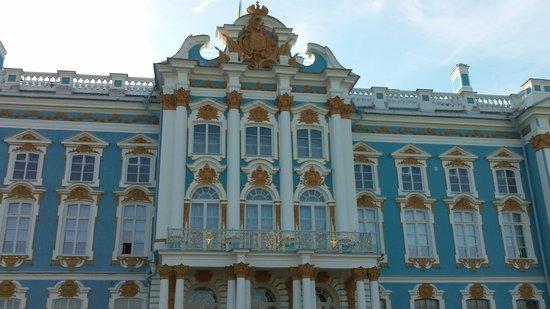 Catherine Palace and Park: Mustard gilding?