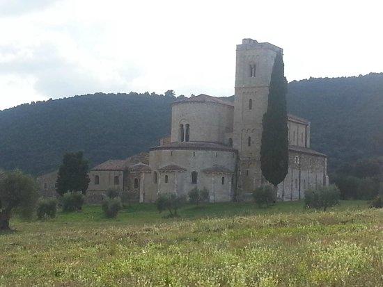 Crete Senesi: Sant'Antimo