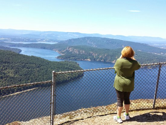 Mount Maxwell Provincial Park: Maxwell Summit