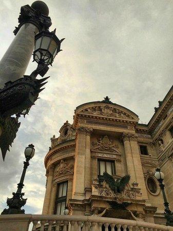 Opéra Garnier : Palais Garnier at Sunset