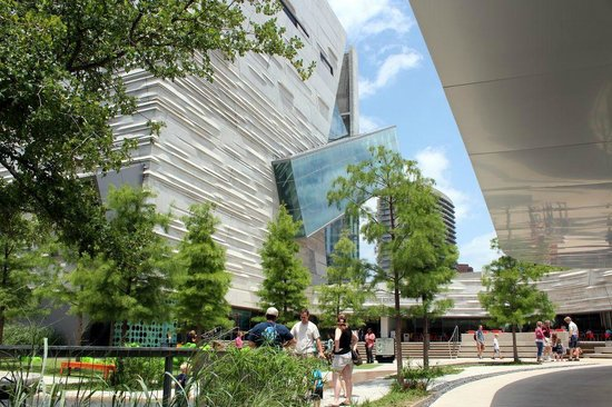 Perot Museum Of Nature And Science - The Exterior