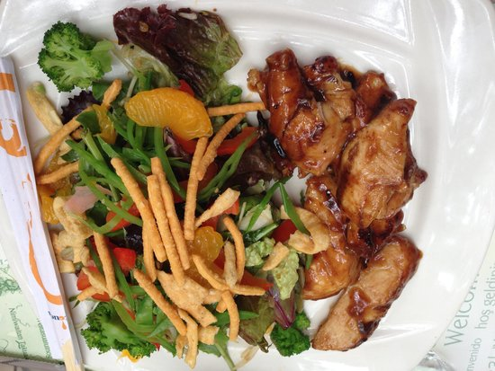 Jardin Nelson: Asian Chicken Salad