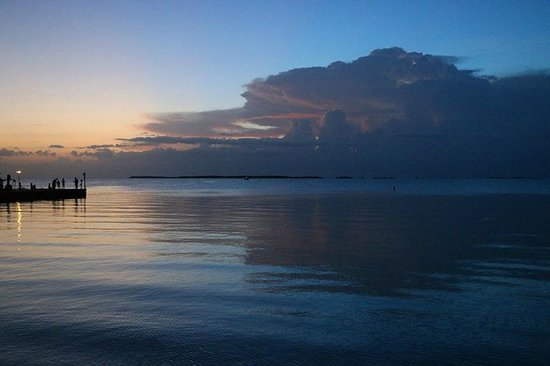 Hilton Key Largo Resort: Florida Bay Sunset