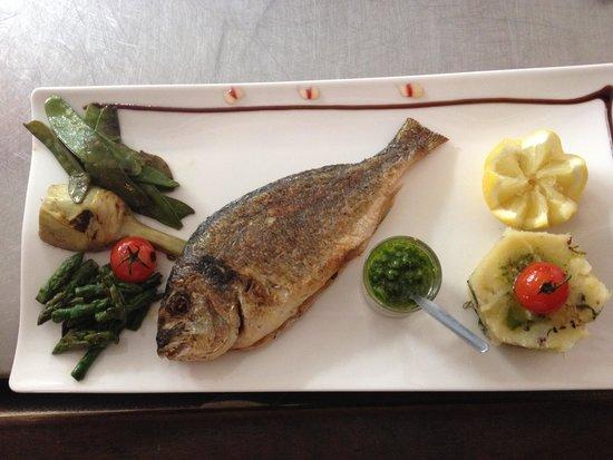 Farniente : poisson grillé