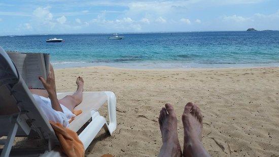 Le Petit Hotel : At the beach