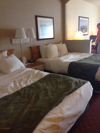 Comfort Suites Chincoteague: Beds