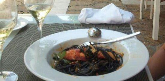 Melia Villaitana: Espagueti con bogavante