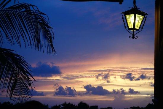 Grand Oasis Sens: Sunset from Al-Sur restaurant
