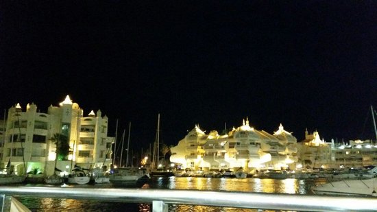 Benalmadena Puerto Marina : The port