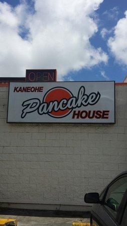 Kaneohe Pancake House : 落ち着いた街に良いお店