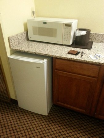 BEST WESTERN Executive Suites - Columbus East: Frig and microwave