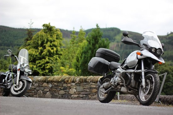 Tigh Na Cloich Hotel: Bikers always Welcome