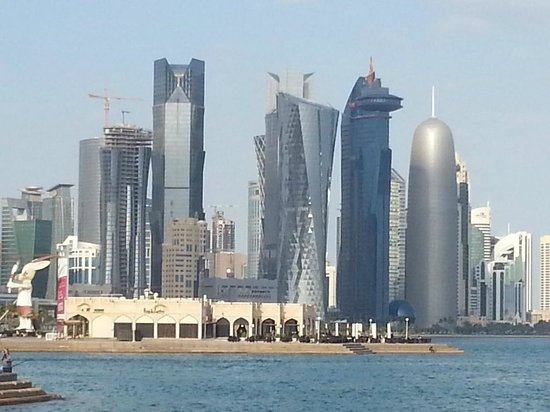 The Corniche : down town doha