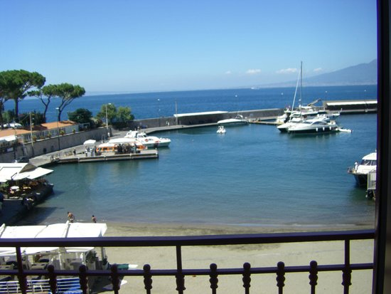 Marina Piccola 73: View from the breakfast area