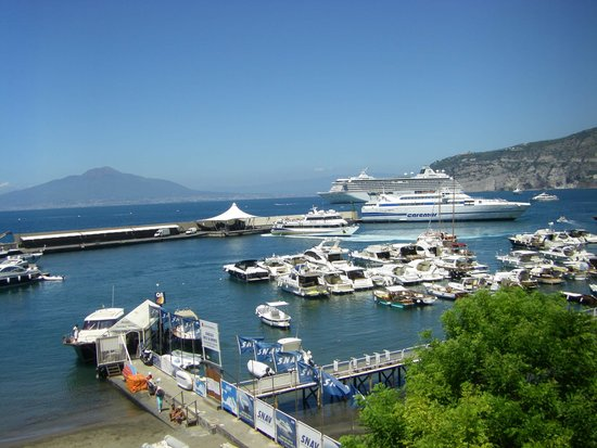 Marina Piccola 73: View from our room