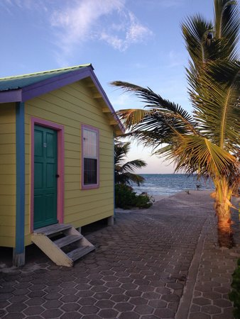 Royal Caribbean Resort: Le casette-bungalow dell'hotel