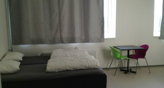 Anker Apartment : room with curtain closed