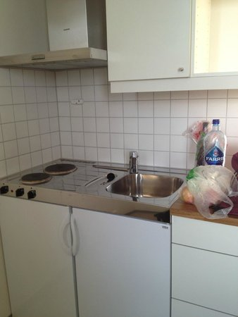 Anker Apartment : kitchen area