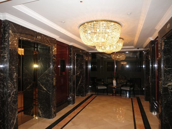 The Ritz-Carlton, Moscow : hall