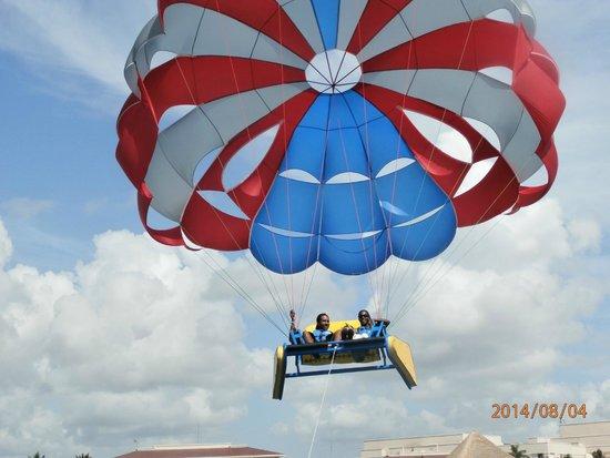 Moon Palace Golf & Spa Resort : Sky Riding