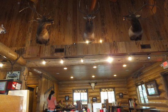 Cowboy Lodge and Grill : Interior