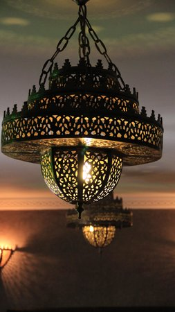 Riad Shemsi: morrocan night lights!