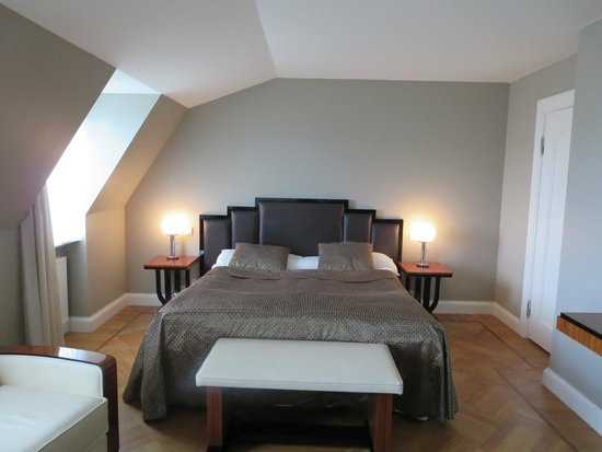 """Hotel Borg by Keahotels: sleeping area; fifth floor non-suite """"suite"""""""