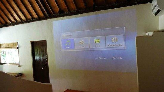 Adeng-Adeng Bungalows : Island Bungalow projector