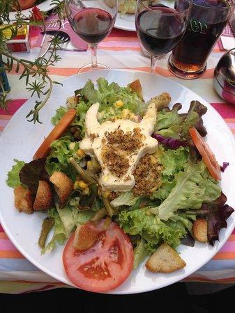 le XIII: Salade de chèvre frais