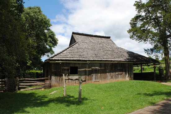 Booker T. Washington National Monument: The horse barn