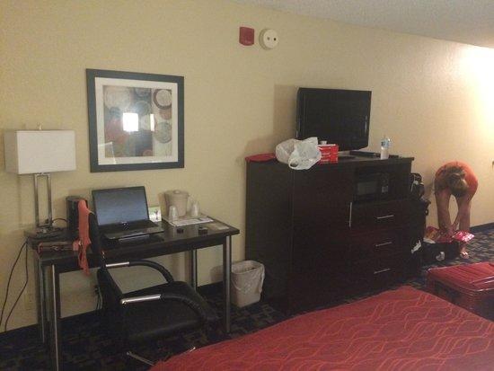 Comfort Suites Downtown: TV