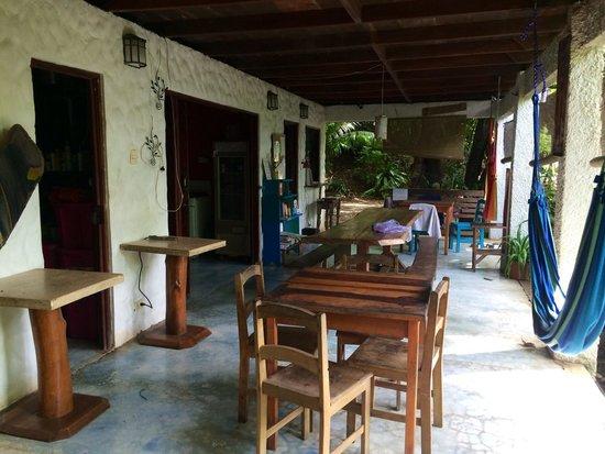 Luz en el Cielo Eco-B&B/Hostel: Meeting and dining area