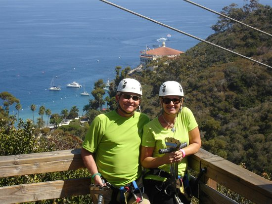 Zip Line USA : Joe and Rhonda Shelton