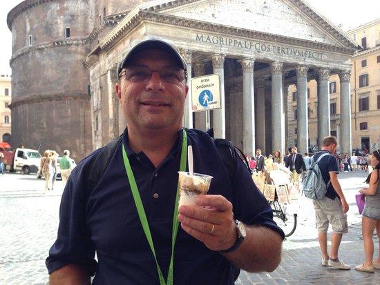 La Casa del Caffe Tazza d Oro: Iced coffee.