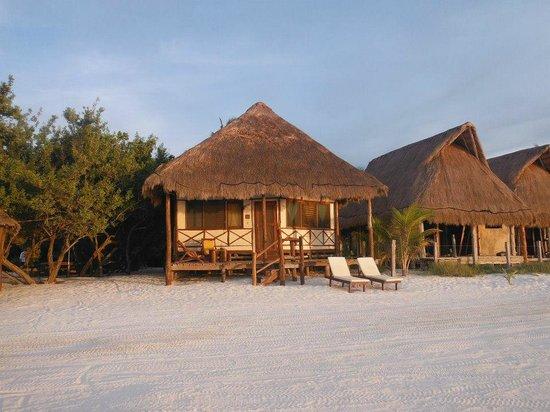 Casa Takywara: Bungalow frente al mar.