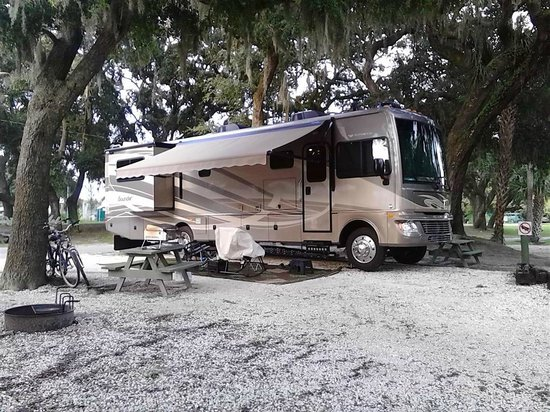 Rivers End Campground and RV Park: site 38 at River's End