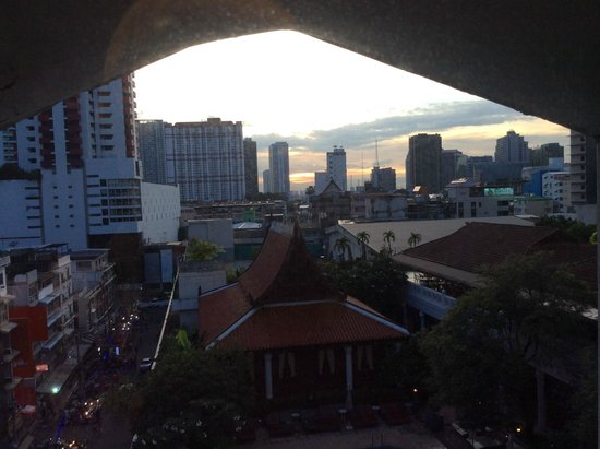 Indra Regent Hotel: View from one room