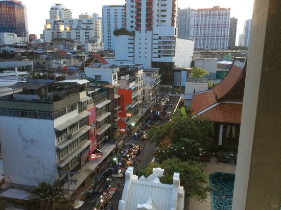 Indra Regent Hotel: View from other room