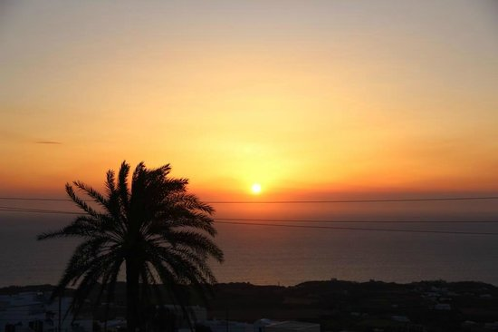 Villa Fotini: Sunrise at room balcony