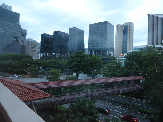 Swissotel Merchant Court Singapore: View from our room